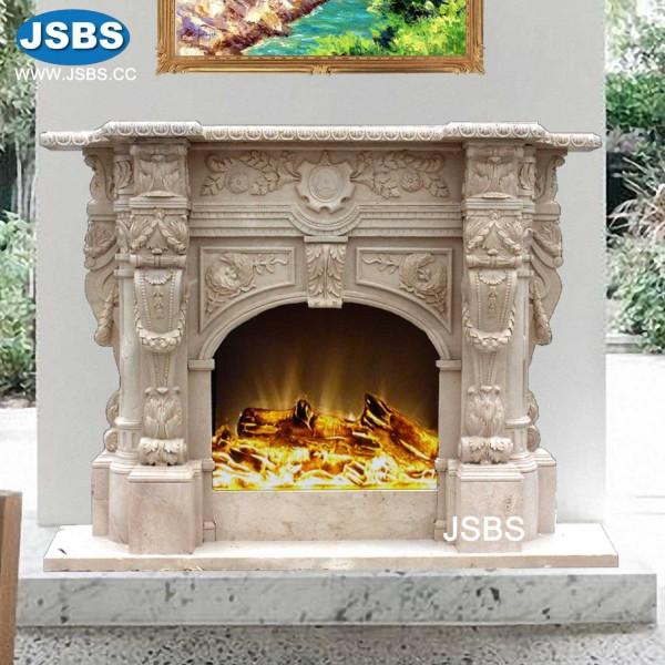 Ornate Nice Fireplace Surrounds, Marble Fireplace | Stone ...