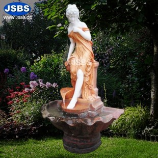 Stone Carved Marble Outdoor Or Indoor Garden Decorative Fountains